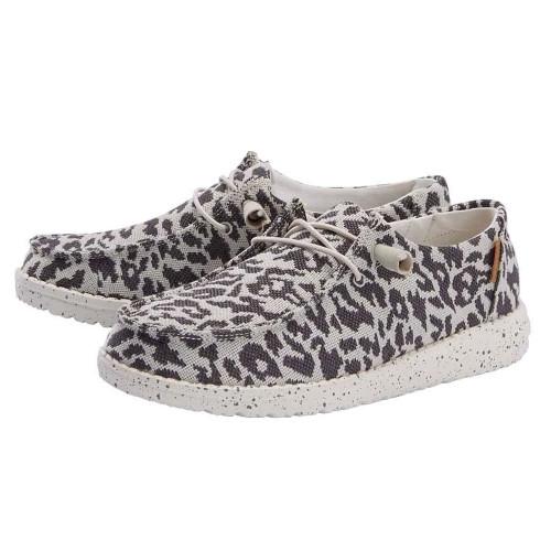 Women's Hey Dude™Wendy Slip On-Cheetah Grey  Front