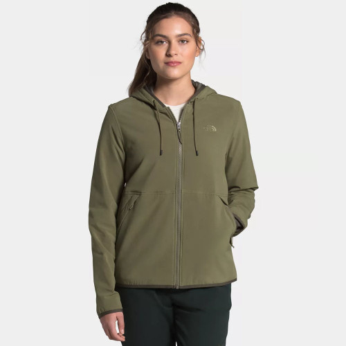 Women's The North Face Mountain Sweatshirt Hoodie 3.0 Burnt Olive Green