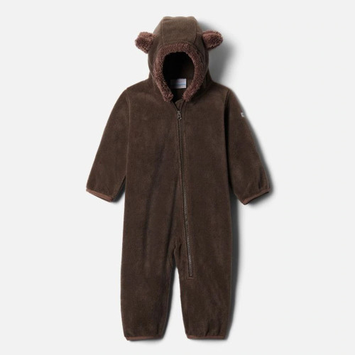 Infant Boys' Columbia Tiny Bear II Bunting Bark Brown Front