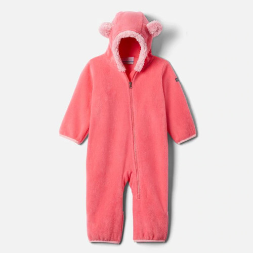 Infant Girls' Columbia Tiny Bear II Bunting Bright Geranium
