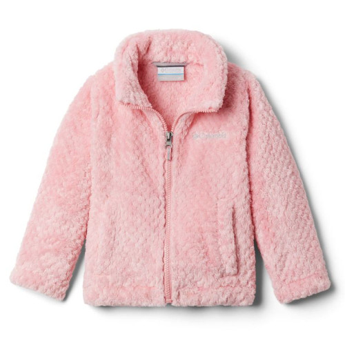 Toddler Girls' Columbia Fire Side Sherpa Full Zip Jacket Pink Orchid