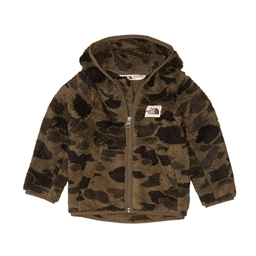 Toddler Boys' The North Face Campshire Hoodie New Taupe Green Camo