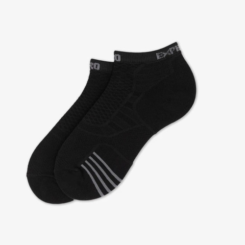 Unisex Thorlos Prolite Micro Mini Socks Black Flat