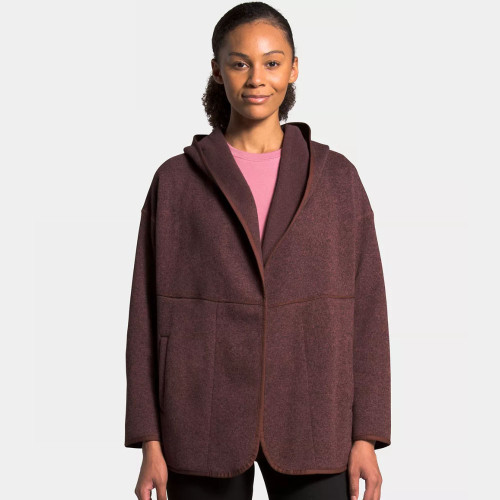 Women's The North Face Crescent Wrap Maroon Purple Black Heather