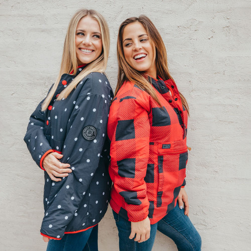 Women's Simply Southern Reversible Pullover