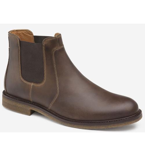 Men's Johnston & Murphy®Copeland Chelsea Boot Tan Front