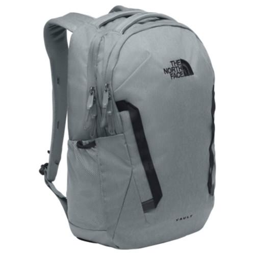 Men's The North Face Vault Backpack 5YG-Mid Grey Dark Heather/TNF Black