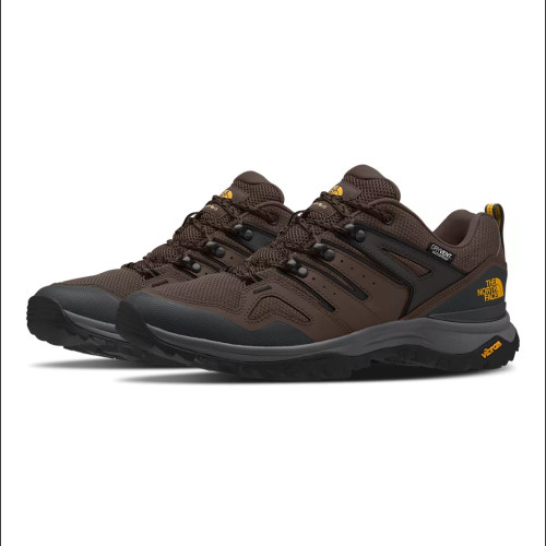 Men's The North Face Hedgehog Fastpack II Waterproof Trail Shoe Chocolate Brown