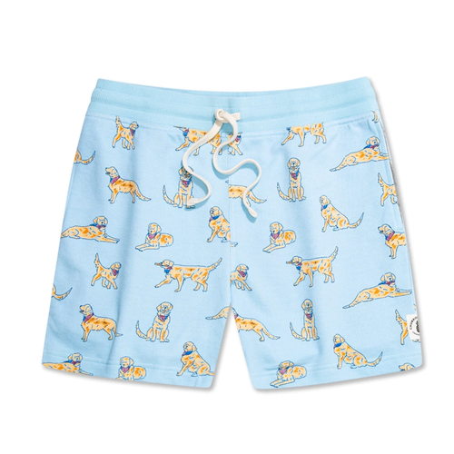 "Men's Chubbies The Rescues 5.5"" Casual Short Light Blue"