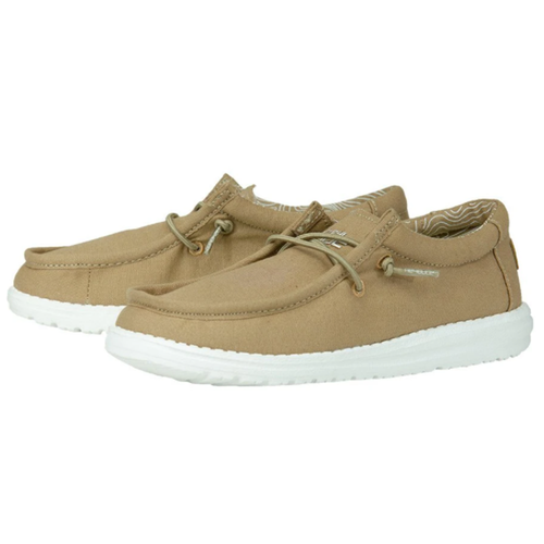 Youth Hey Dude Wally in Tan Pair