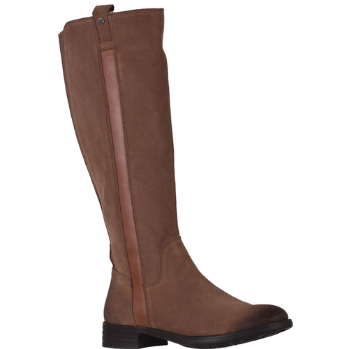 Women's Bussola Thelma Taupe Suede Boot