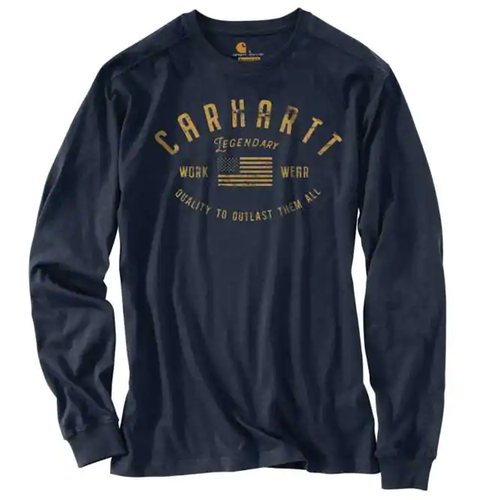 Men's Carhartt® Long Sleeve Legendary Graphic Tee Navy