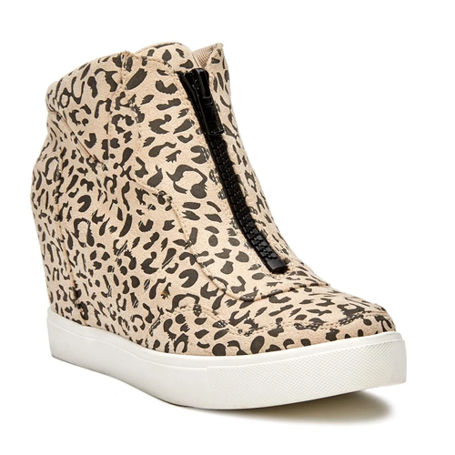 Women's Matisee Coconuts Long Live Wedge Sneaker Ivory