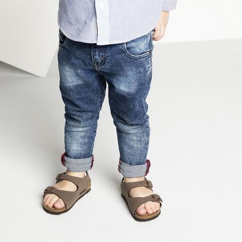 Kids' Birkenstock Roma Sandal in Mocha