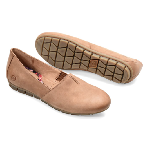 Women's Born Sebra Loafer in Tan