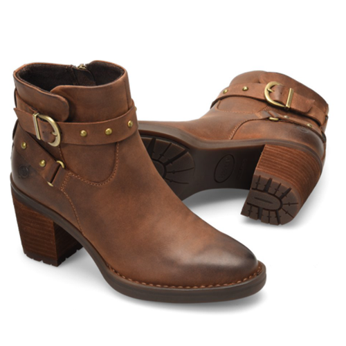 Women's Born Derica Bootie in Brown