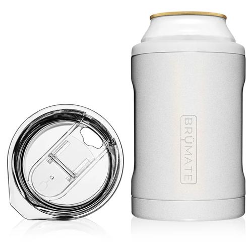 Brumate Hopsulator Duo 2-IN-1 Glitter White