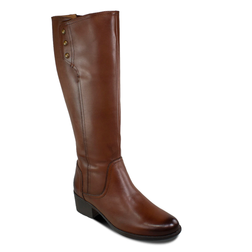 Women's Bussola Alyse Riding Boot in Russet
