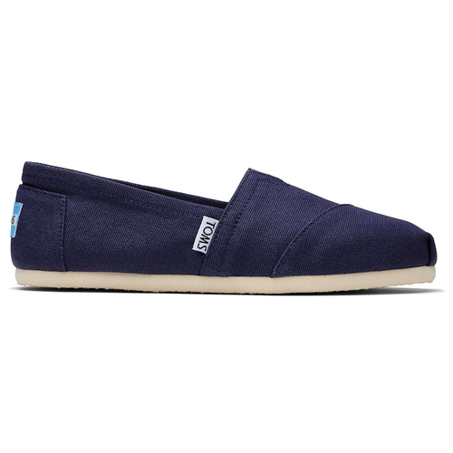 Women's TOMS Classic Canvas Alpargata Slip On Shoe Black