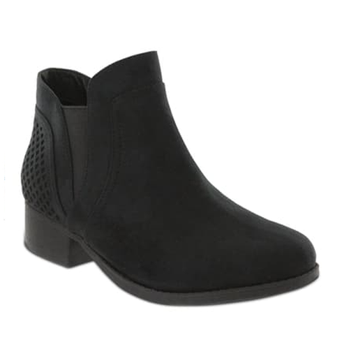 Mia Footwear Londra Ankle Boot Black