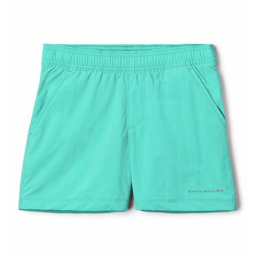 Girls' Columbia Backcast Short -Dolphin Front