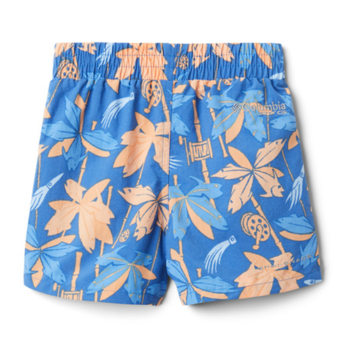 Toddler Boys' Columbia PFG Super Backcast Short -Vivid Blue Front