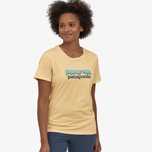 Women's Patagonia Short Sleeve Pastel P-6 Logo T-Shirt VEPC Front