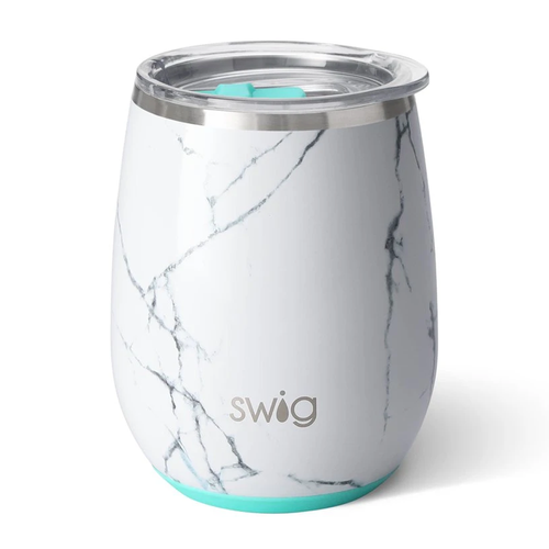Swig Life 14 oz Stemless Wine Cup -Marble Slab