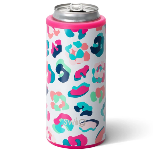 Swig Life 12 oz Skinny Can Cooler -Party Animal