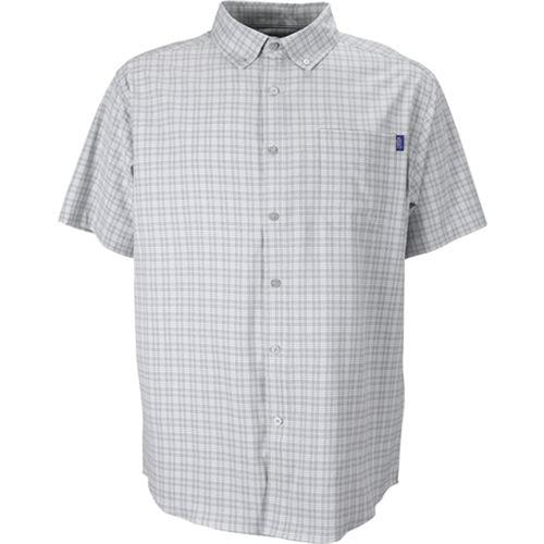 Men's Aftco Short Sleeve Dorsal Shirt GRAH Front