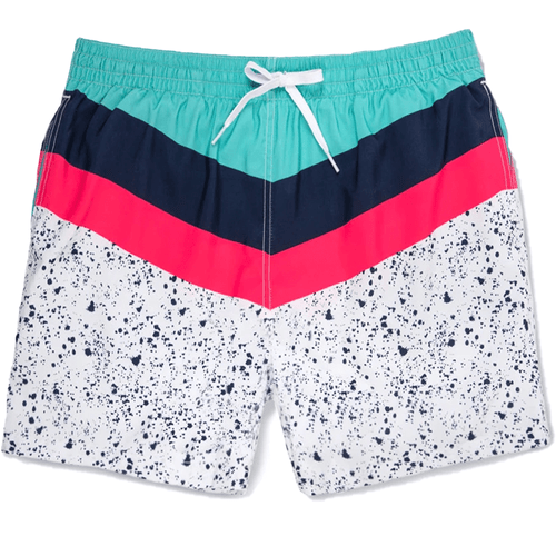 "Men's Chubbies The Aquatic Libations 5.5"" Swim Trunks"