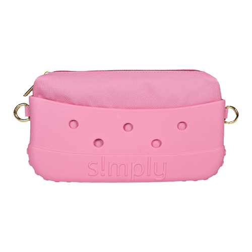 Simply Southern Simply Clutch Flamingo Pink
