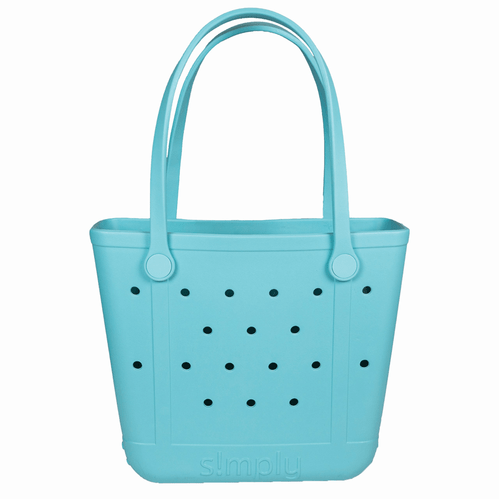 Simply Southern Small Simply Tote -Solid Sky