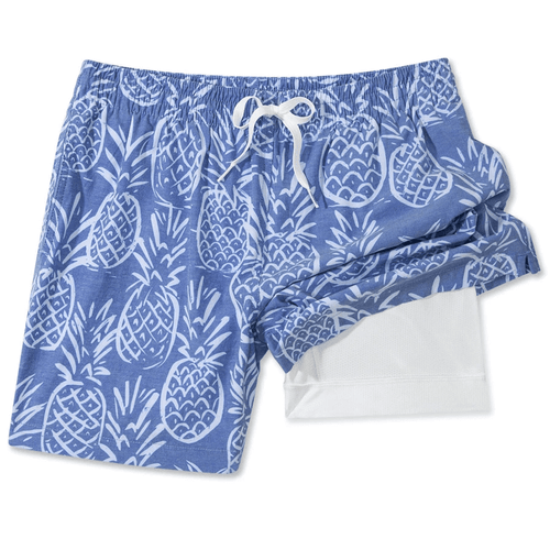 "Men's Chubbies 5.5"" Thigh-Napples Swim Trunks"