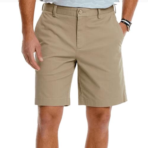 "Men's Southern Tide 9"" Channel Marker Shorts Sandstone Khaki"