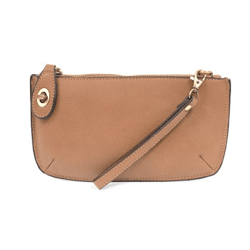 Joy Susan Mini Crossbody Wristlet Clutch Camel