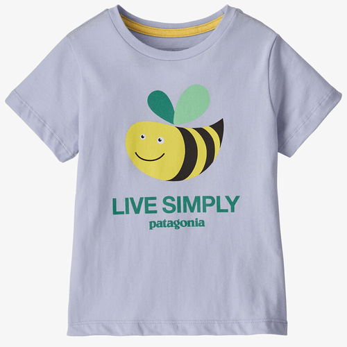 Infant Girls' Patagonia Baby Live Simple® Organic Cotton Tee