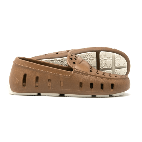Kids' Floafers Prodigy Driver Footwear -Brown