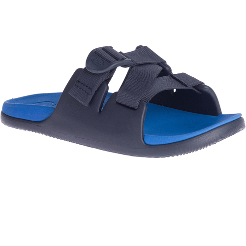 Big Kid's Chaco Chillos Slide in Active Blue