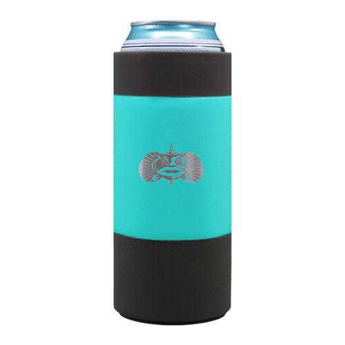 Toadfish Non-Tipping 16 oz Can Cooler Teal