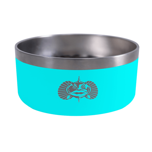 Toadfish Universal Non-Tipping Dog Bowl Teal