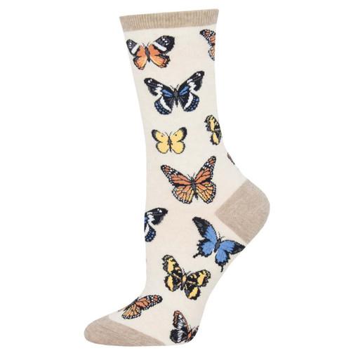 Women's Socksmith Majestic Butterflies Socks