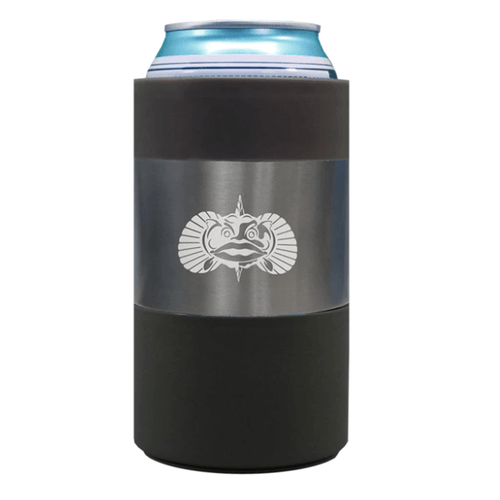 Toadfish Non-Tipping 12 oz Can Cooler Graphite