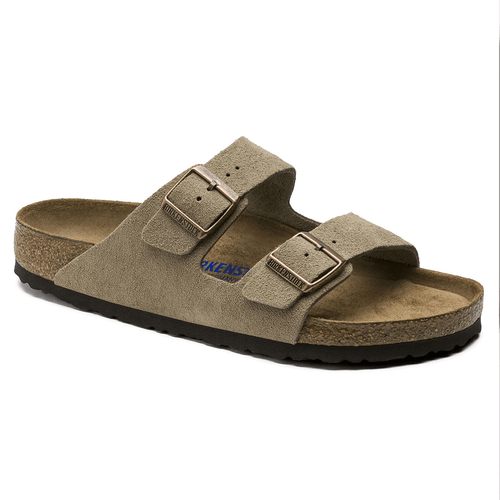 Men's Birkenstock Arizona Soft Footbed Sandal Taupe
