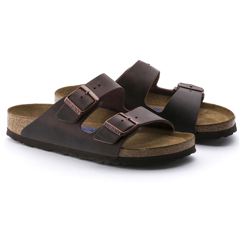 Men's Birkenstock Arizona Soft Footbed Sandals Habana