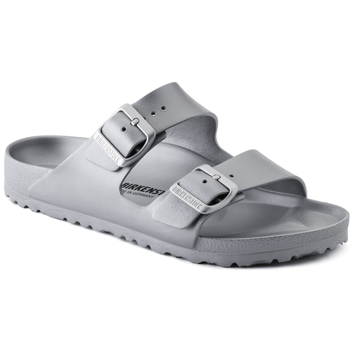 Women's Birkenstock EVA Arizona Sandal Metallic Silver