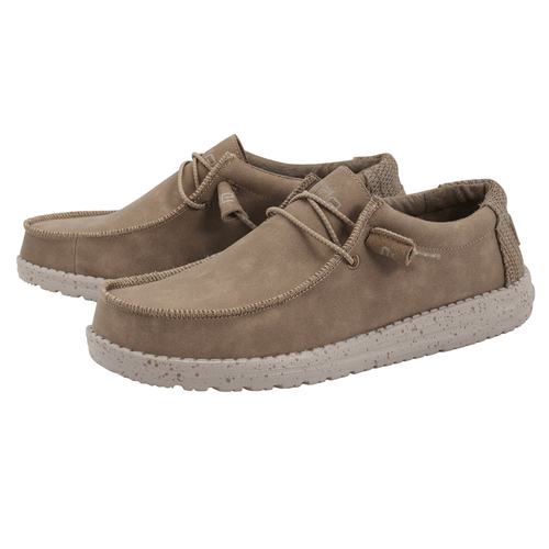 Men's Hey Dude Wally Recycled Leather - Nut