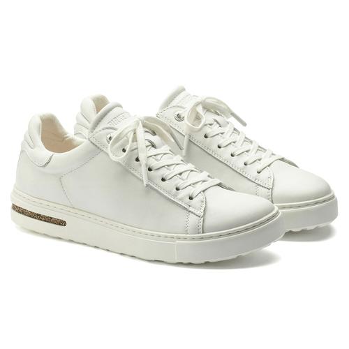 Women's Birkenstock Bend Casual Sneaker White Leather