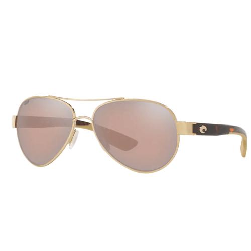 Costa Loreto Sunglasses -Silver Mirror Copper