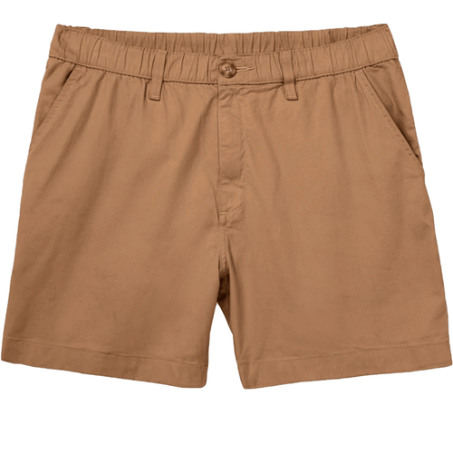 """Men's Chubbies The Staples 5.5"""" Stretch Shorts Medium Brown Front"""